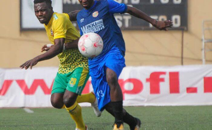 Results of Matchday 25, as NPFL is suspended till further notice due to Coronavirus 14 Sportelo