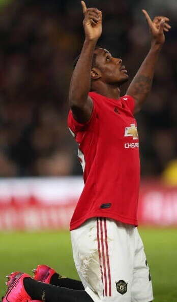 Odion Ighalo bangs a brace in Manchester United FA cup Victory. 5 Sportelo