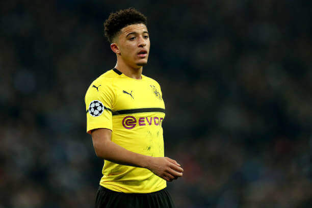 Transfer: Manchester United contacts Jadon Sancho's agent. 18 Sportelo