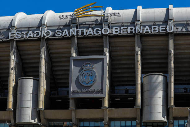 Real Madrid stadium to be used as Centre for Health supplies 5 Sportelo
