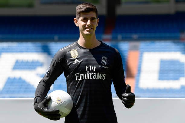 Thibaut Courtois reacts on Chelsea reaching the champions league final 1 Sportelo