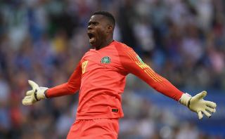 Super Eagles goalkeeper Francis Uzoho
