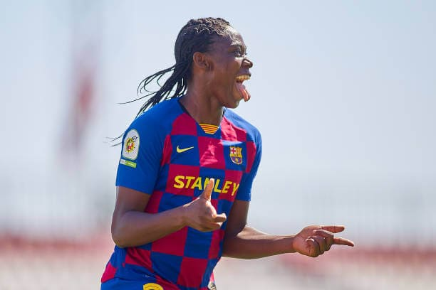 Oshoala wins first league title with Barcelona feminine 2 Sportelo