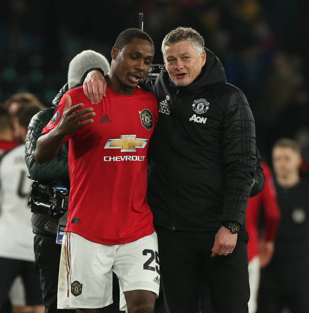 Official:Solskjaer explains the situation of Ighalo Manchester United contract 2 Sportelo