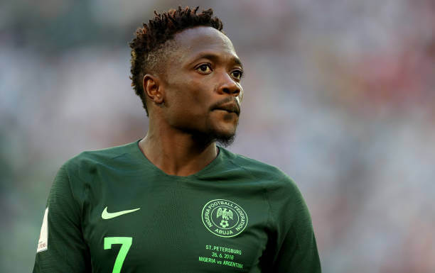 Super Eagles captain Ahmed Musa reveals his best days
