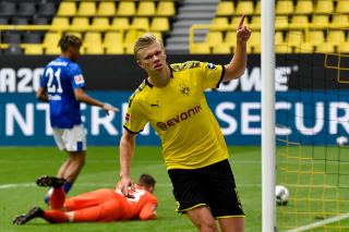 Erling Haaland scoring record continues as he scores against Schalke 3 Sportelo