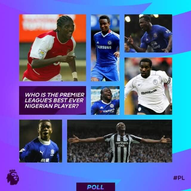 Nwankwo Kanu emerges as the best ever Nigeria player in the Premier League 2 Sportelo