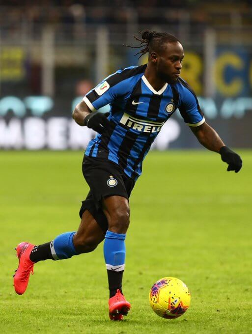 Victor Moses helps Inter Milan secure a win over Parma