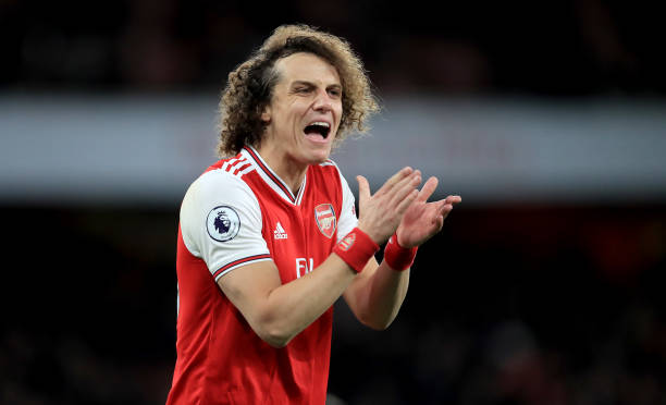 David Luiz Arsenal contract extended by one-year
