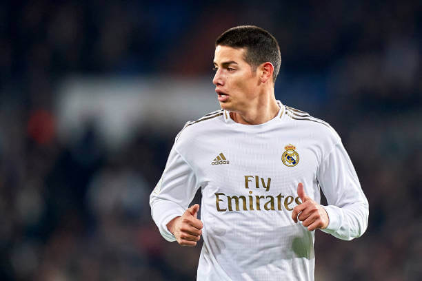 Real Madrid prevented me from leaving last summer says James Rodriguez