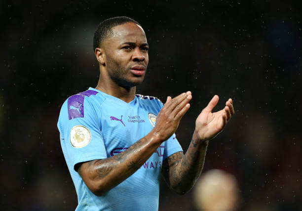 Manchester City Raheem Sterling in support of Black live matters Movement 1 Sportelo