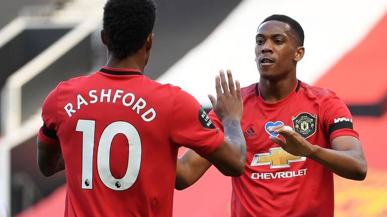 Anthony Martial sets new records in Manchester United Victory