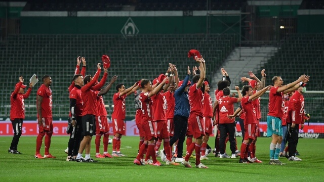 Bayern Munich wins Bundesliga title for the eight-time in a row