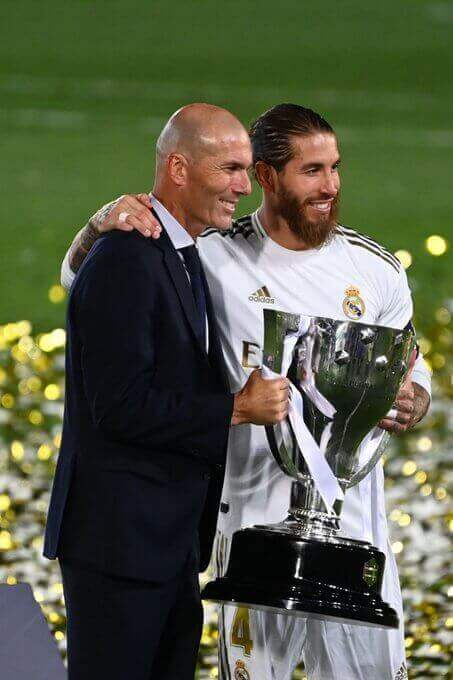 Real Madrid Zinedine Zidane happier to win La Liga than Champions League