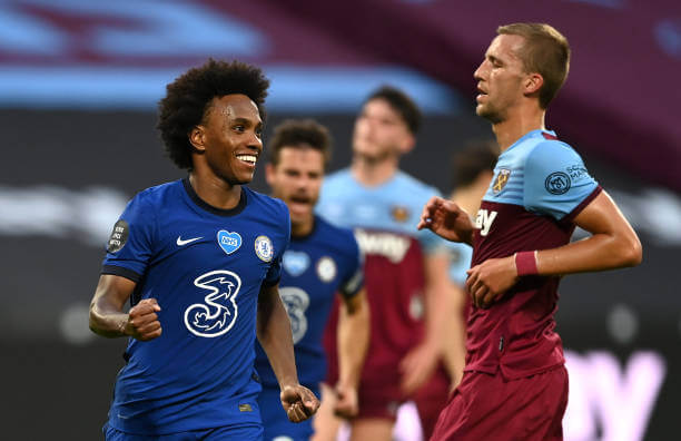 Arsenal close to signing Willian from Chelsea