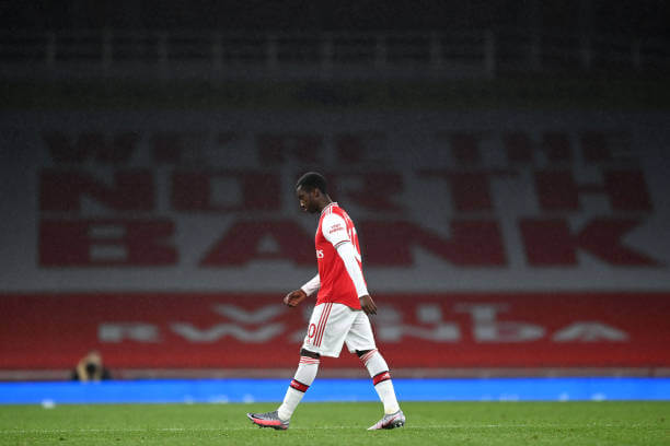 Arsenal to appeal Nketiah red card