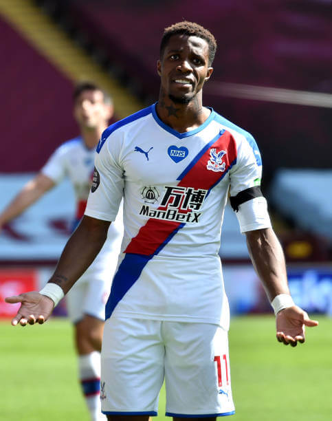 Police arrest 12-year-old boy for racist abuse against Wilfred Zaha