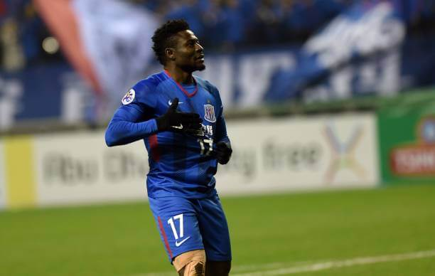 Shanghai Shenhua signs Obafemi Martins as a replacement for Odio Ighalon