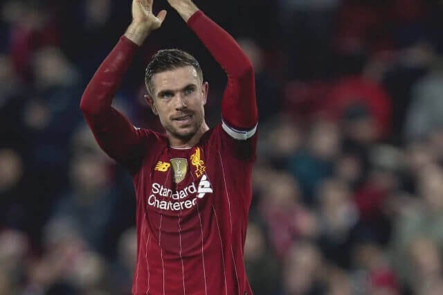 Jordan Henderson wins the FWA player of the year