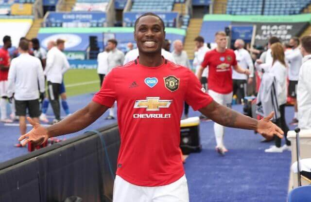 Odion Ighalo excited with Manchester United qualification for the champions league