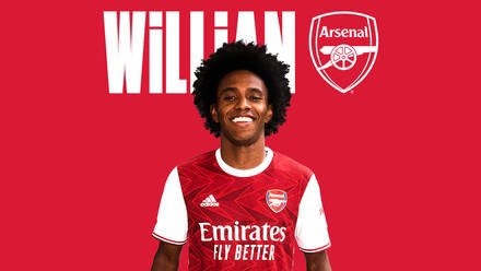 Arsenal confirms the signing of Willian from Chelsea