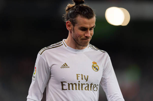Gareth Bale left out of Real Madrid squad to face Manchester City