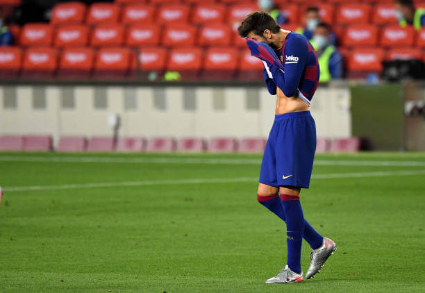 Gerard Pique admits Barcelona have hit rock bottom and needs changes