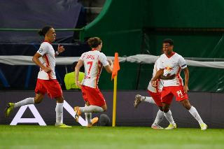 Red Bull Leipzig set up clash with PSG after beating Athletico Madrid