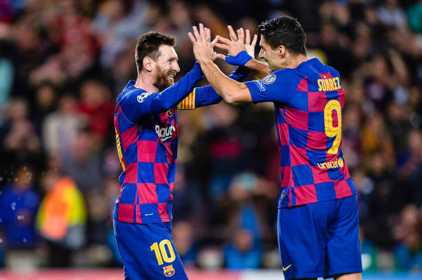 Atletico Madrid President welcomes Lionel Messi to Join Luis Suarez