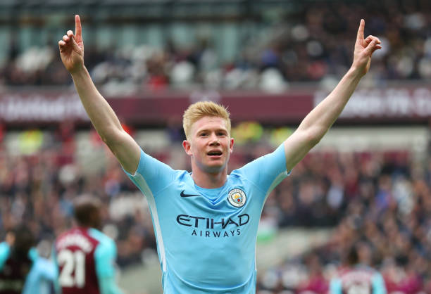 Kevin De Bruyne wins the PFA player of the year award