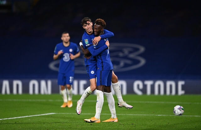 Kai Havertz nets first goal and first hat-trick for chelsea