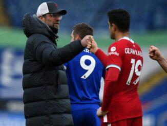 Jurgen Klopp and Ozan Kabak