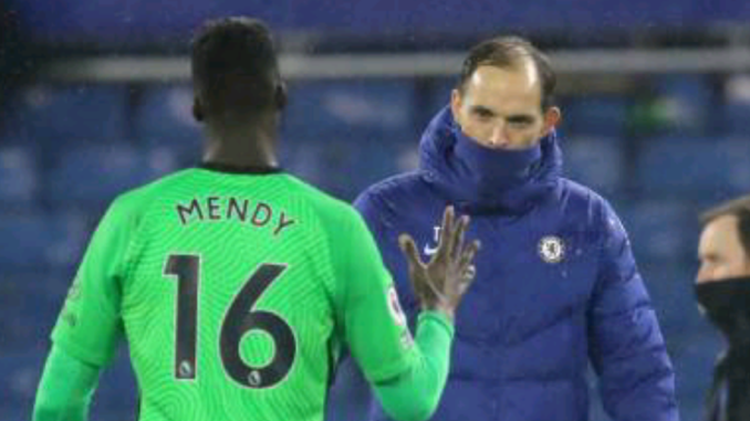 Edouard Mendy and Thomas Tuchel