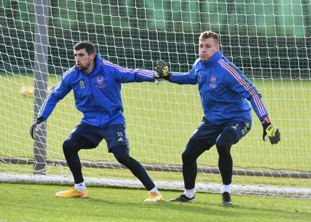Brend Leno and Mat Ryan