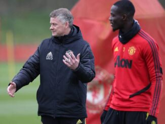 Eric Bailly and Solskjaer