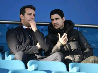 Mike Arteta and Edu