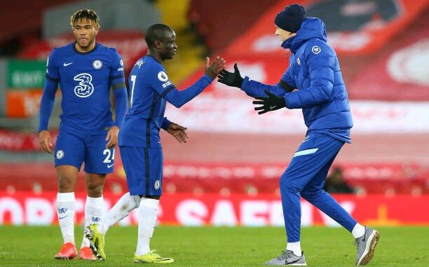 N'Golo Kante and Thomas Tuchel