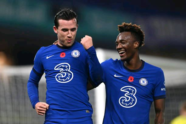 Ben Chilwell and Tammy Abraham