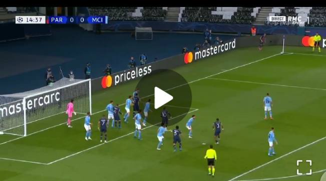 Watch Video: Marquinhos gives PSG the Lead against Man City 1 Sportelo