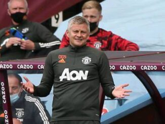 "Ole Gunnar Solskjaer ""delighted"" after Manchester United 3-1 come back victory over Aston Villa. 13 Sportelo"
