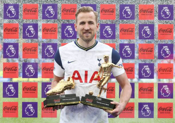 Harry Kane breaks record after winning Golden boot and playmaker of the season 5 Sportelo