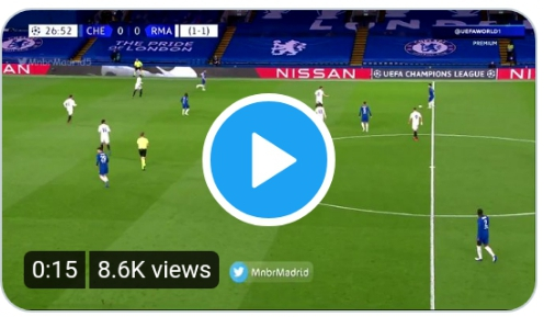 Watch Video: Timo Werner Goal for Chelsea against Real Madrid 1 Sportelo