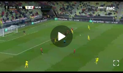 Watch Video: Gerard Moreno gives Villarreal the lead against Man United 28 Sportelo