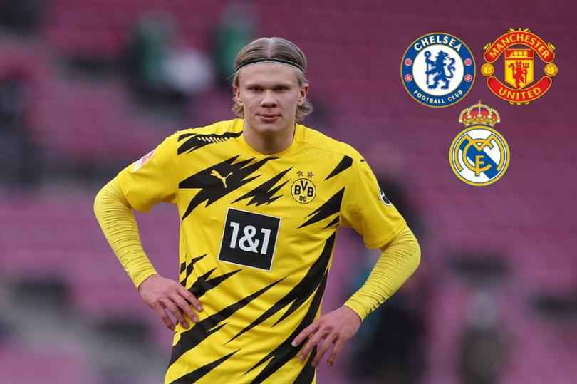 Latest on Erling Haaland Chelsea transfer news £112m deal, Personal term agreed, Real Madrid stance 1 Sportelo