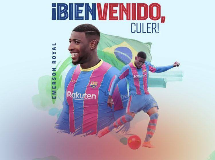Barcelona confirms the signing of Emerson from Real Betis 1 Sportelo